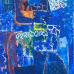 Blue Harmony, 36 x 24 in.