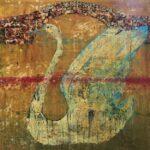 Swan Song, 30 X 30 in.