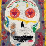 Tuesday, November 2nd: Dia de los Muertos Skulls - exploring collage on canvas